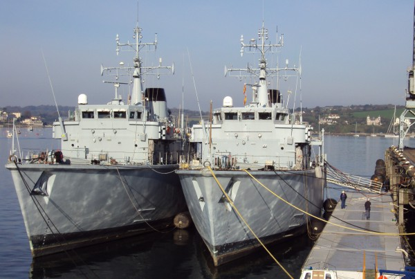 Minesweeper vessels