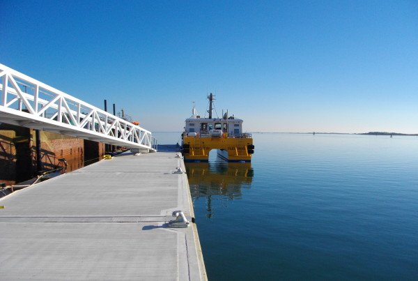This project was for Offshore Design Engineering who have built the onshore base facility for Vattenfall.