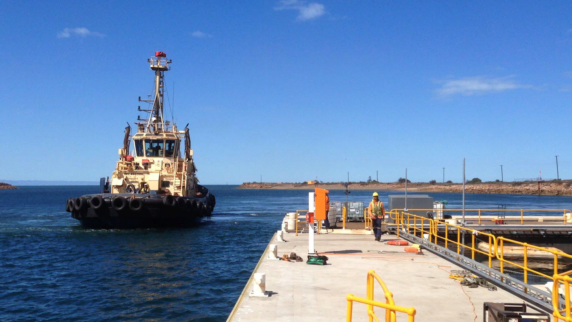 Svitzer whyalla port australia marine design for Porte 7th sea