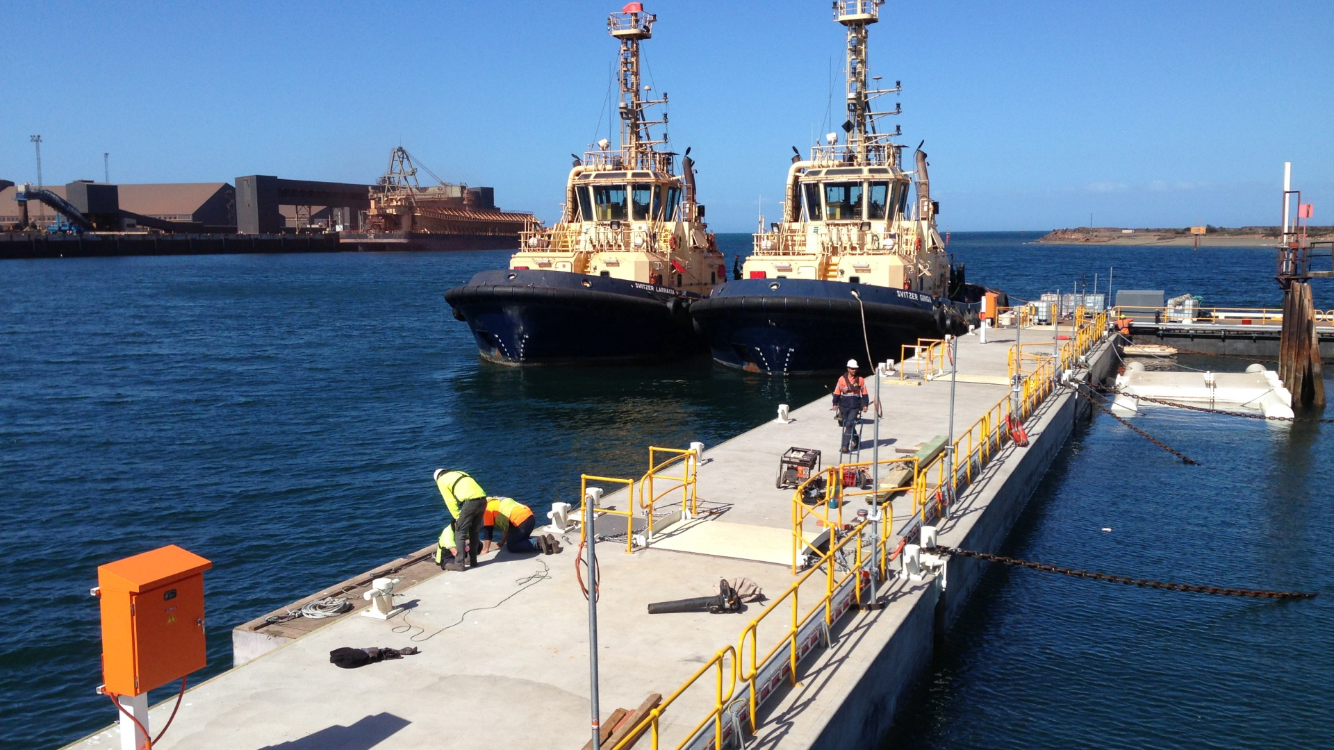 Svitzer tugs, Whyalla