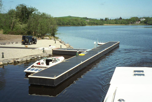Innishclare pontoon
