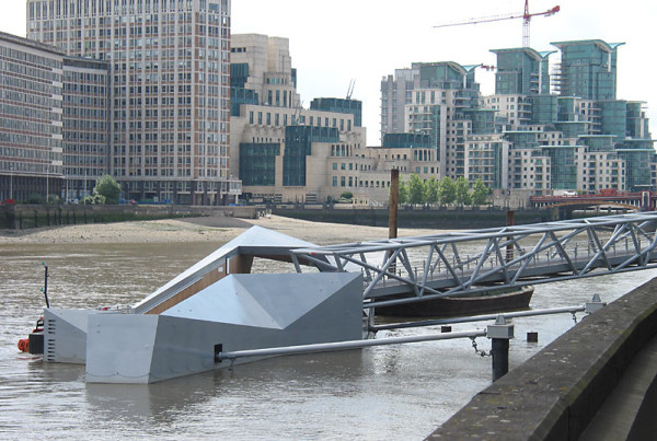 Millbank Riverboat pontoon