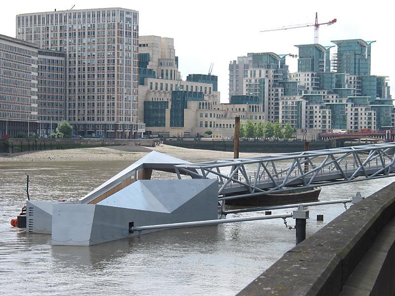 Millbank Riverboat pontoon