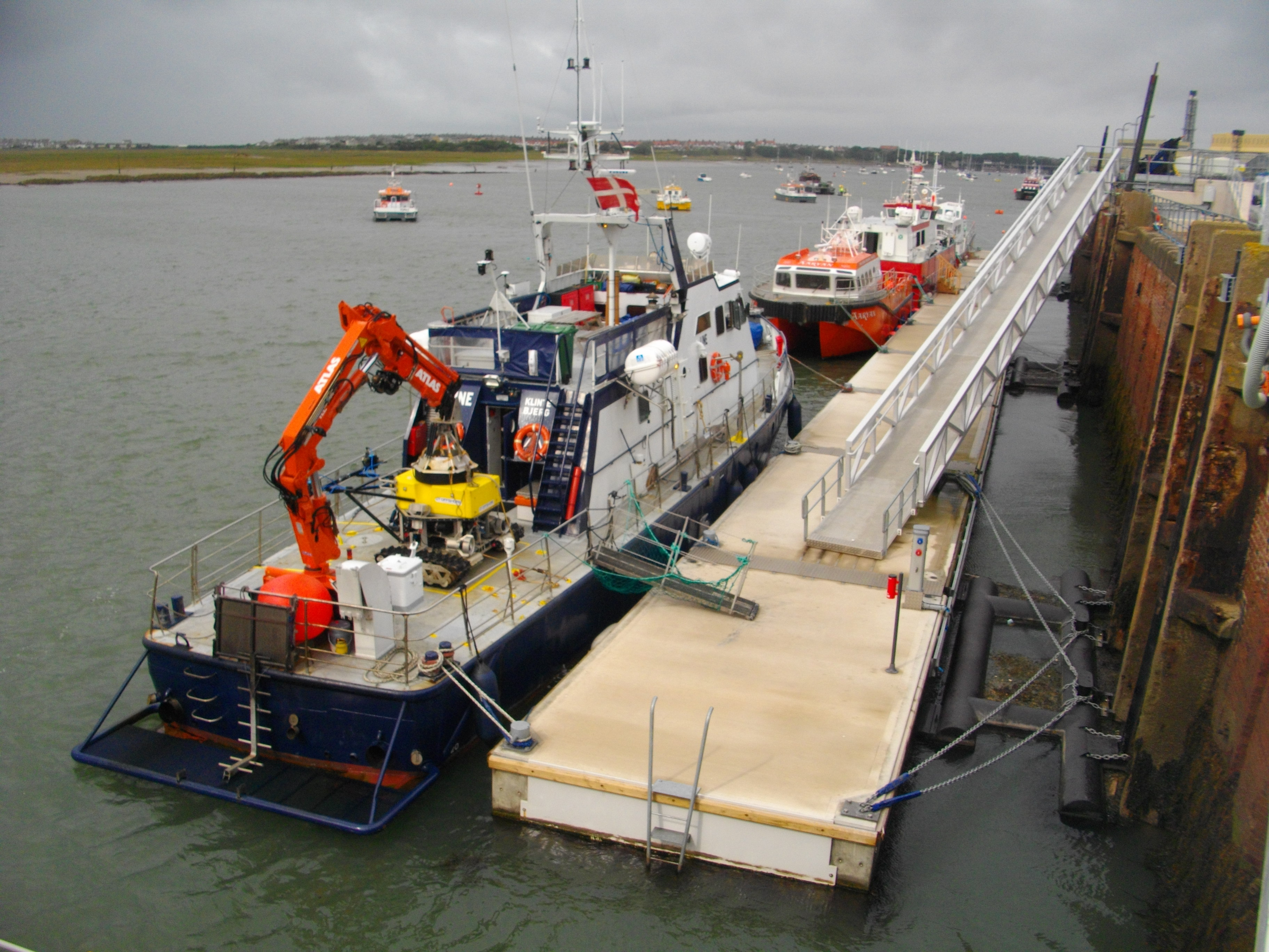 Dong Energy pontoons, Barrow-in-Furness - Marine Design & Construction