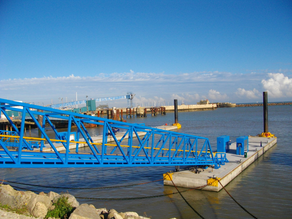 One of the three brows and piers at Ramsgate Clients Vattenfall and Dong Energy.