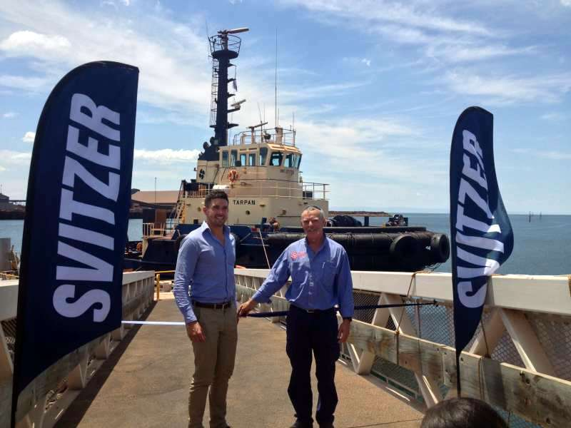 Svitzer pontoon marine design