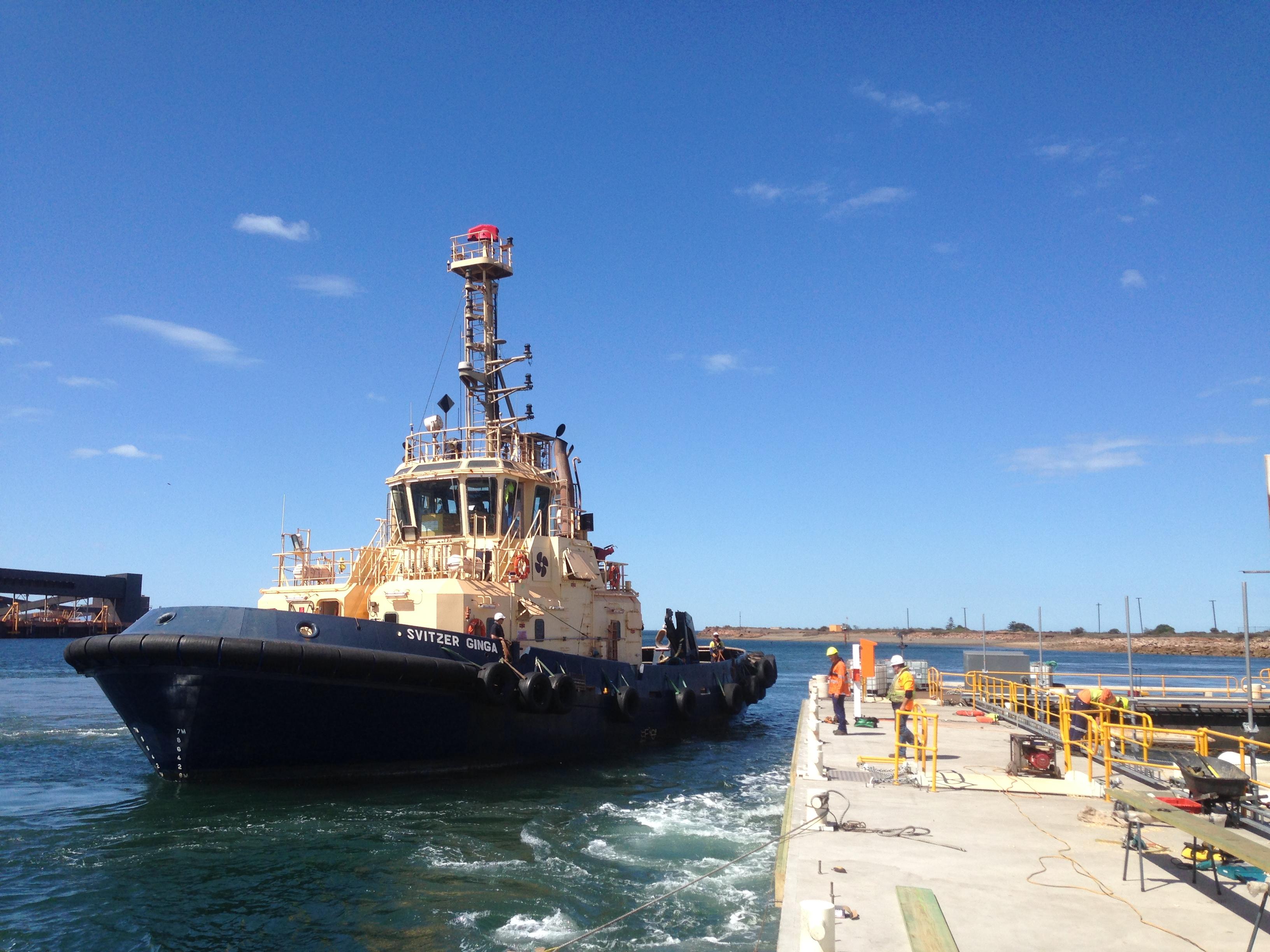 Concrete pontoon Whyalla