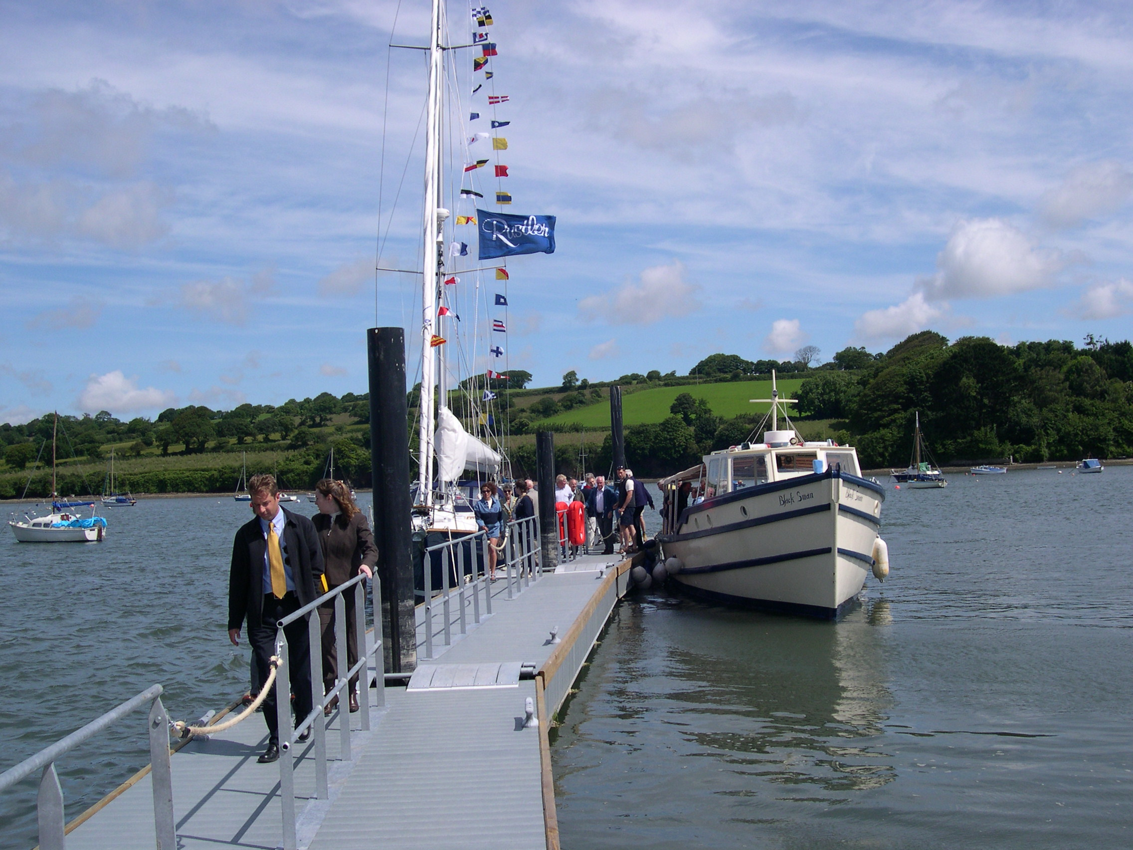 Falmouth Ferry pontoon