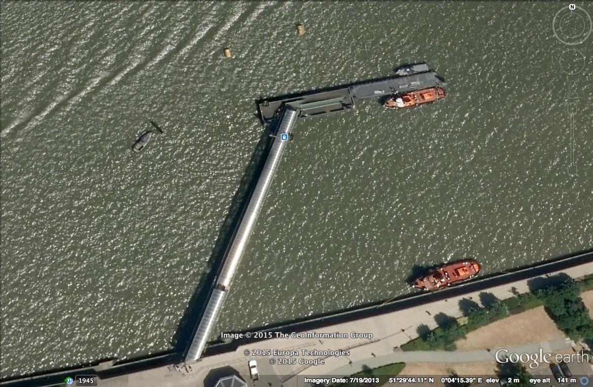 Royal Arsenal Pier, London